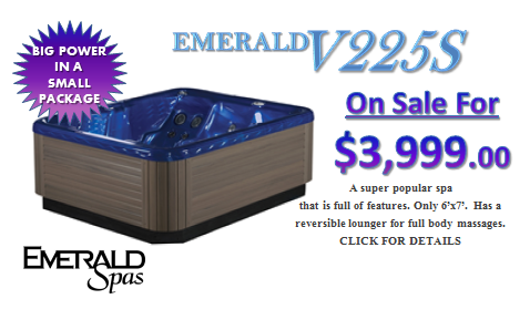 Emerald Spa V225S - On Sale Now!