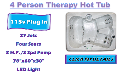 Iris 4 Person Hot Tub - Shop Now!