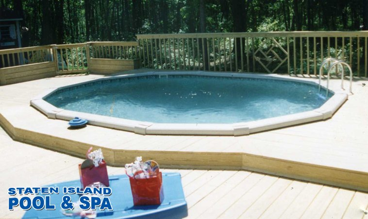 Above ground pool buying guide staten island pool spa for Buying an above ground pool guide