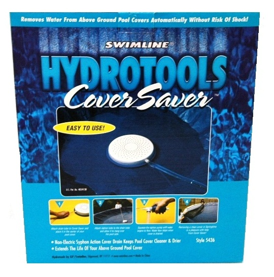 Hydrotools Above Ground Swimming Pool Winter Cover Pump