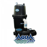AquaPro 190 SQ. FT. Cartridge Filter System w/2 H.P. 2 SPD Motor