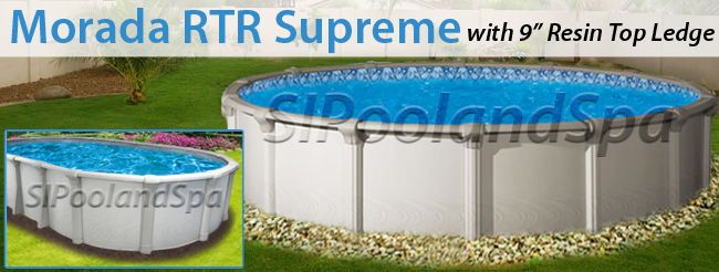 Above ground pool package builder staten island pool spa for Above ground pool manufacturers