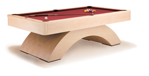 Olhausen Billiards Waterfall Pool Table - Made in the USA!