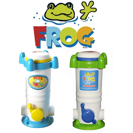 Pool Frog and Leap